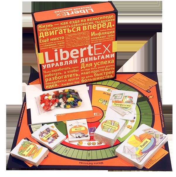 Содержимое коробки Libertex