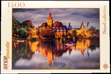 Пазл  Замок у озера