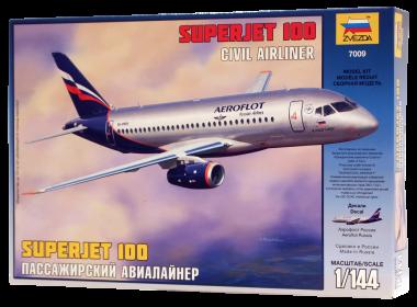 Суперджет 100 сборная модель