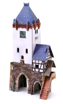 Дозорная башня Умная бумага