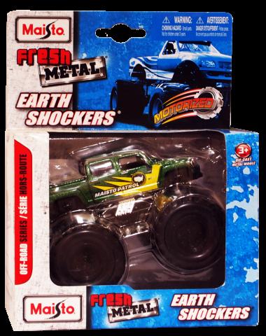Вездеход Maisto Earth Shockers