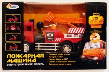 Пожарная машина на радиоуправлении