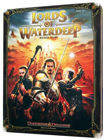 игра Lords of Waterdeep