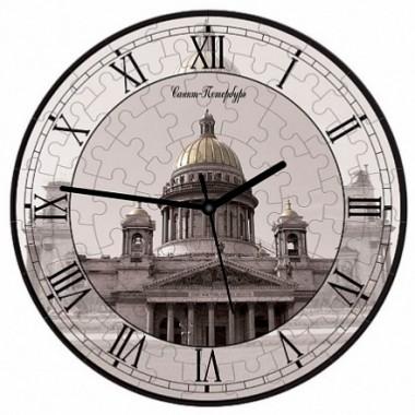 Часы-пазл Исаакиевский собор Умная бумага