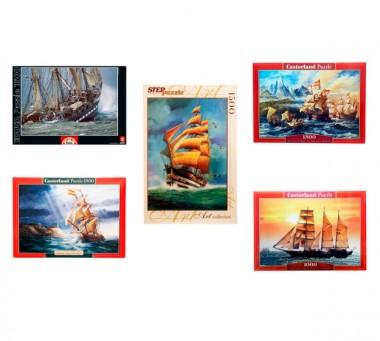 Набор корабли и парусники