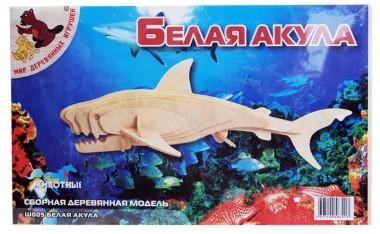 модель Белая акула Ш005