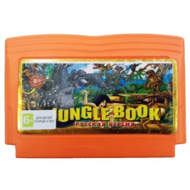 Картридж Jungle Book денди