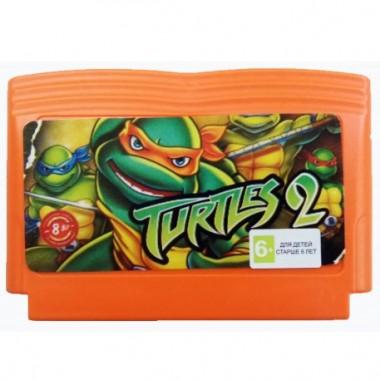 turtles 2 картридж денди