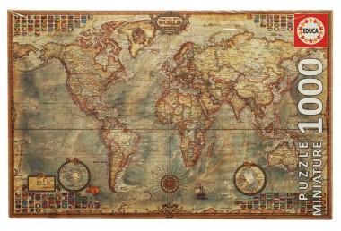 Пазл Карта мира 1000 элементов Educa MINI