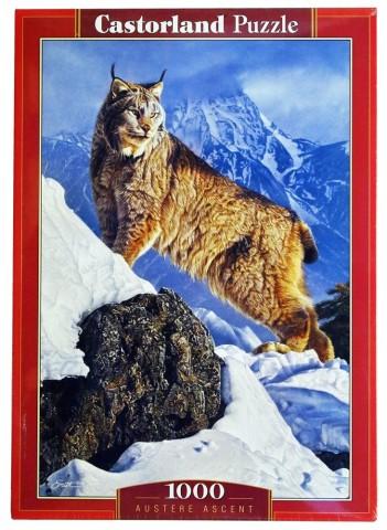 Пазл Рысь в горах C-103560