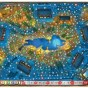 карта с озером