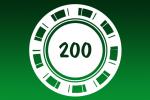 Покерные наборы 200 фишек