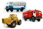 Спецтехника, грузовики, автобусы