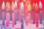 Наборы праздничных свечей