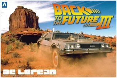 Back to the Future III DeLorean 1:24