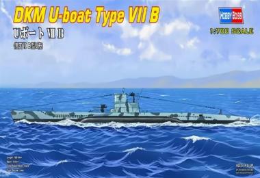 Подводная лодка U-boat Type B 1:700