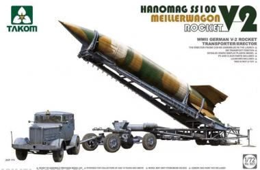 WWII German V-2 Rocket Transporter/Erector 1:72