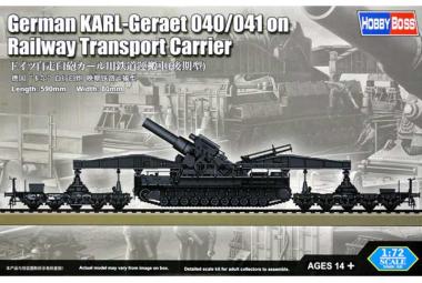 German Rail Transporter for Karl-Geraet 1:72