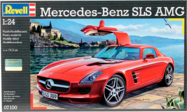 Mercedes SLS AMG 1:24