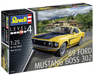 Ford Mustang Boss 302 '69 1:24