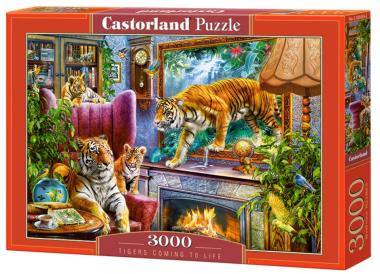 Пазл «Тигры возвращаются к жизни» 3000 элементов