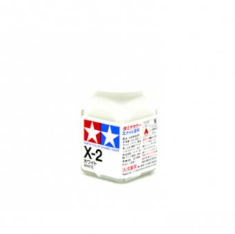 X-2 White gloss, эмаль. (Белый глянцевый)