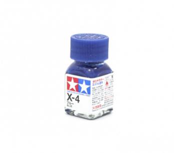 X-4 Blue gloss, эмаль. (Синий глянцевый)