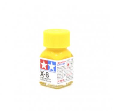 X-8 Lemon Yellow gloss, эмаль. (Лимонный жёлтый глянцевый)