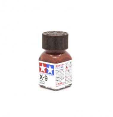 X-9 Brown gloss, эмаль. (Коричневый глянцевый)