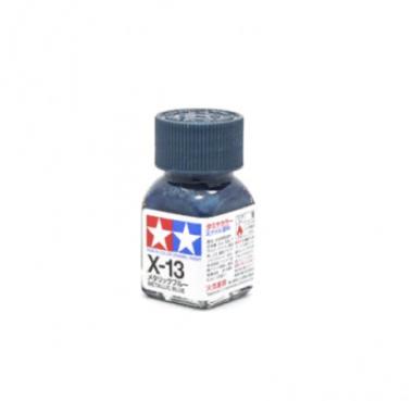 X-13 Metallic Blue, эмаль. (Синий металлик)