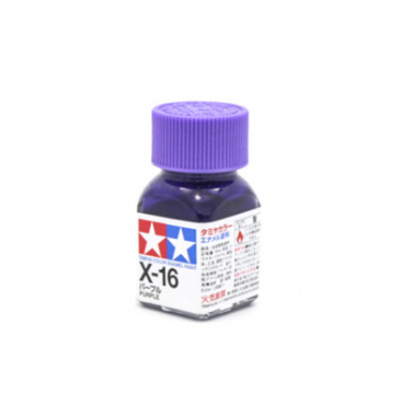 X-16 Purple gloss, эмаль. (Фиолетовый глянцевый)