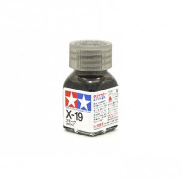 X-19 Smoke gloss, эмаль. (Дымчатый прозрачный глянцевый)