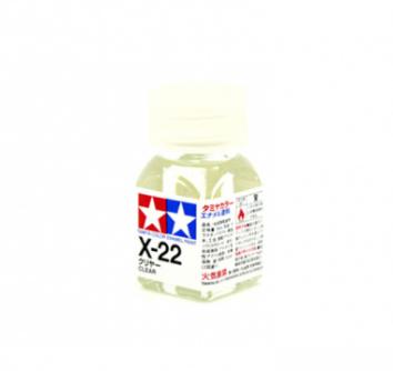 X-22 Clear gloss, эмаль. (Бесцветный прозрачный глянцевый)
