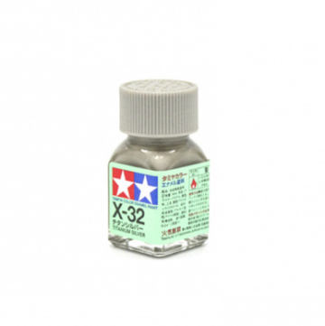 X-32 Titanium Silver metallic, эмаль.(Серебристый титан металлик)
