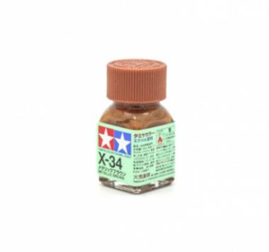 X-34 Metallic Brown, эмаль. (Коричневый металлик)