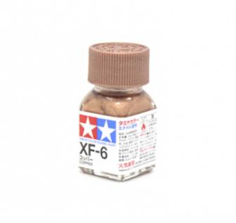 XF-6 Copper metallic, эмаль. (Медь металлик, краска эмалевая 10 мл.)