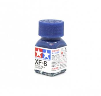 XF-8 Flat Blue, эмаль. (Синий Матовый, краска эмалевая 10 мл.)