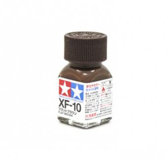 XF-10 Flat Brown, эмаль. (Коричневый матовый)