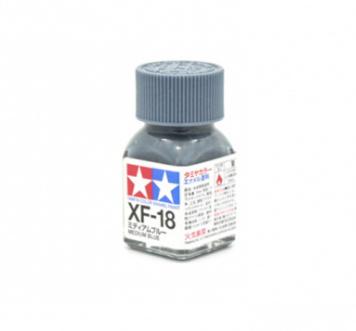XF-18 Medium Blue flat, эмаль. (Средне-Синий матовый)
