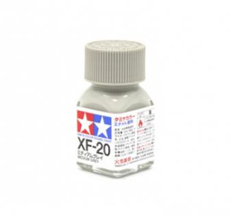 XF-20 Medium Grey flat, эмаль. (Средне-Серый матовый)