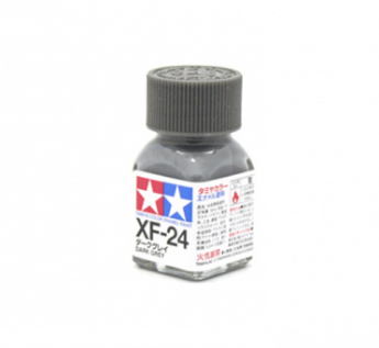 XF-24 Dark Grey flat, эмаль. (Тёмно-cерый матовый)