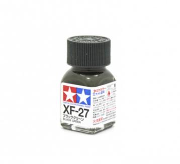 XF-27 Black Green flat, эмаль. (Чёрно-Зелёный матовый)