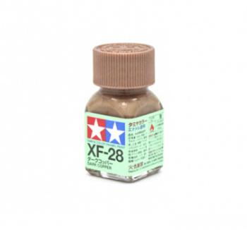 XF-28 Dark Copper metallic, эмаль. (Тёмная Медь металлик)