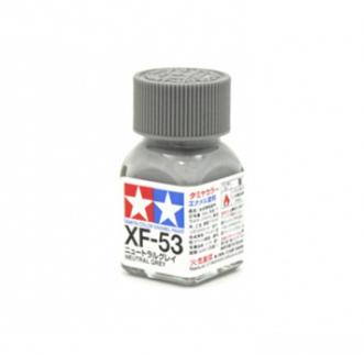 XF-53 Neutral Grey flat, эмаль. (Нейтральный Серый матовый)