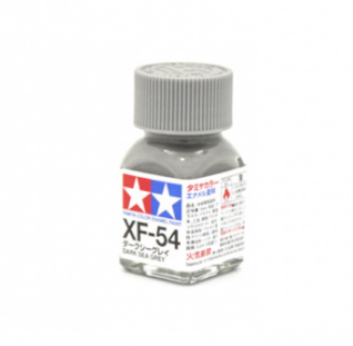 XF-54 Dark Sea Grey flat, эмаль. (Морской Тёмный Серый матовый)