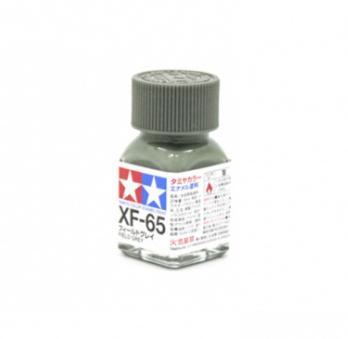 XF-65 Field Grey flat, эмаль. (Полевой Серый матовый)