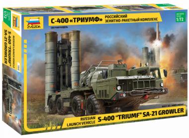Российский зенитно-ракетный комплекс С-400 Триумф 1:72