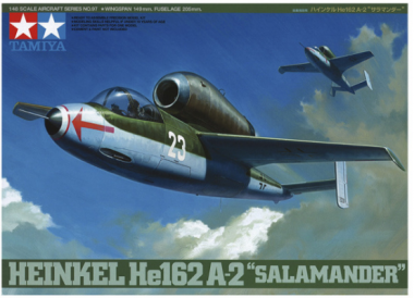 Heinkel He 162 a-2 Salamander 1:48