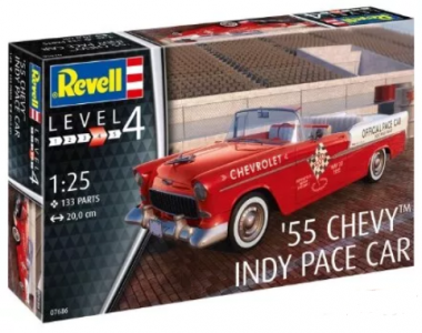 1955 Chevy Indy Pace Car 1:24