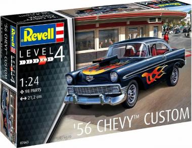 Сборная модель 56 Chevy Custom 1:24